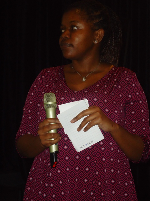 Bridget Mutua, Discussion Moderator ,88th Lola Kenya Screen film forum