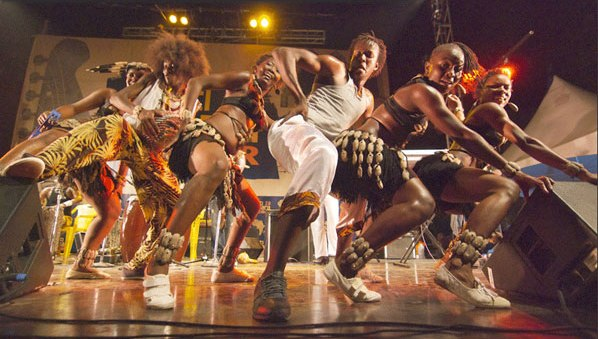 artists perform at a past edition of Sauti-za-Busara-music-festival