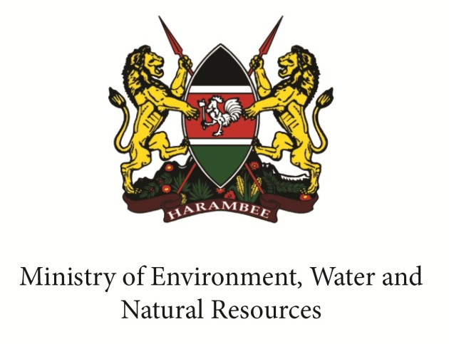 Kenya's ministry of environment, water and natural resources logo