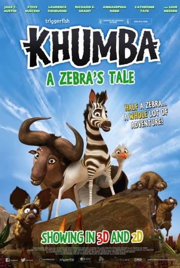 How many stripes should a complete zebra have, Khumba