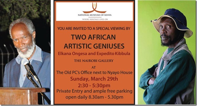 Two African Artistic Geniuses: Elkana Ongesa and Expedito Kibbula
