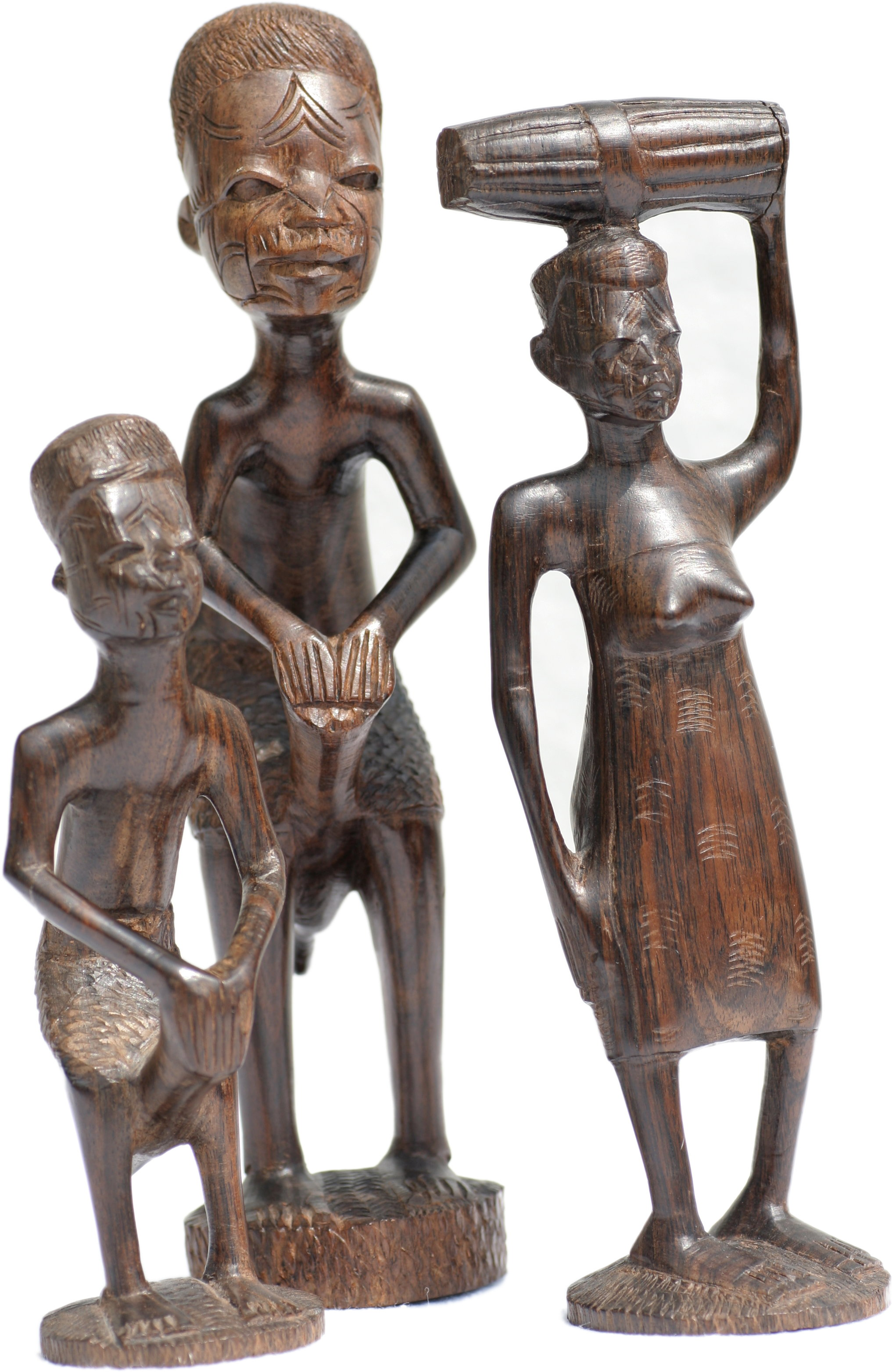 Wood carving by Makonde of Mozambique, Tanzania and Kenya
