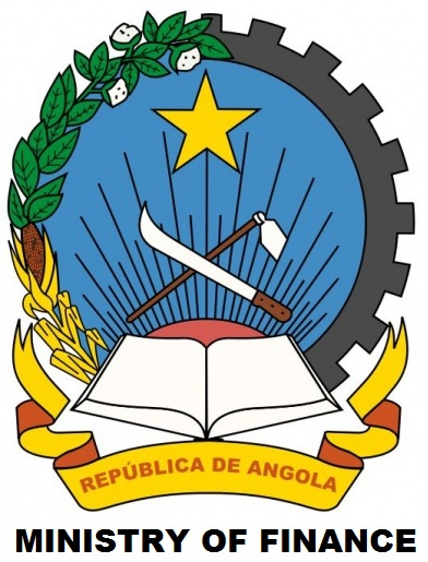 Angola's Ministry of Finance's logo