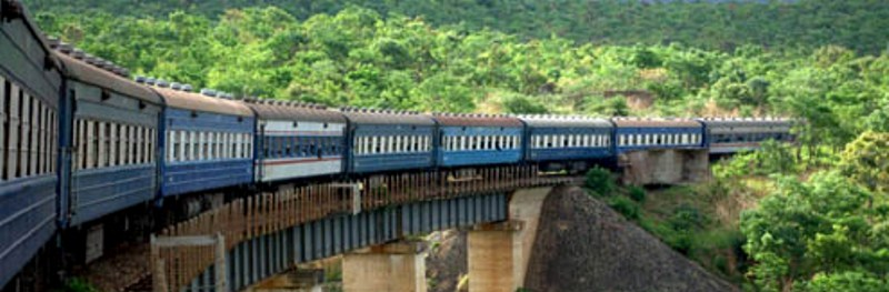 Tanzania-Zambia Railway Authority, TAZARA, train linking Tanzania and Zambia