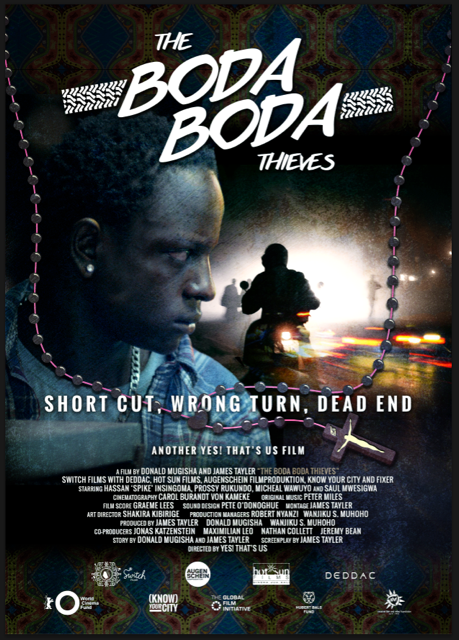 Boda Boda Thieves' Hassan 'Spike' Insingoma won Best Promising Young Actor prize at AMAA 2015