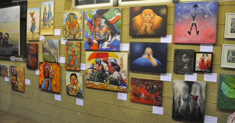 2nd Art-Popularising and Fundraising Show, aka the affordable show