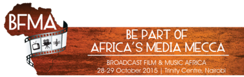 Broadcast, Film and Music Africa, BFMA, 2015 Conference & Exhibition logo