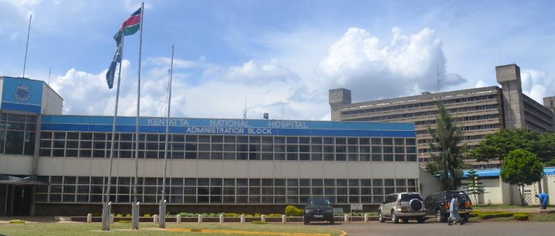 Kenya's main teaching and refferal hospital, Kenyatta National Hospital, Nairobi