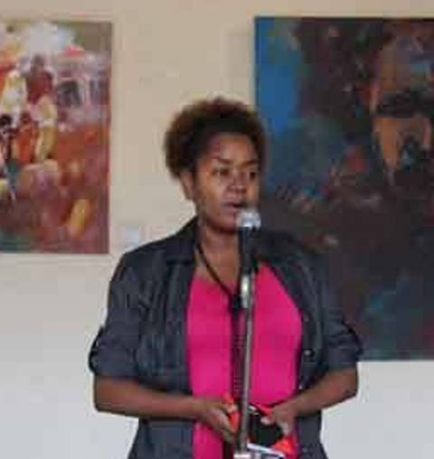 Lydia Gatundu-Galavu, Curator of Contemporary Art, Nairobi National Museum