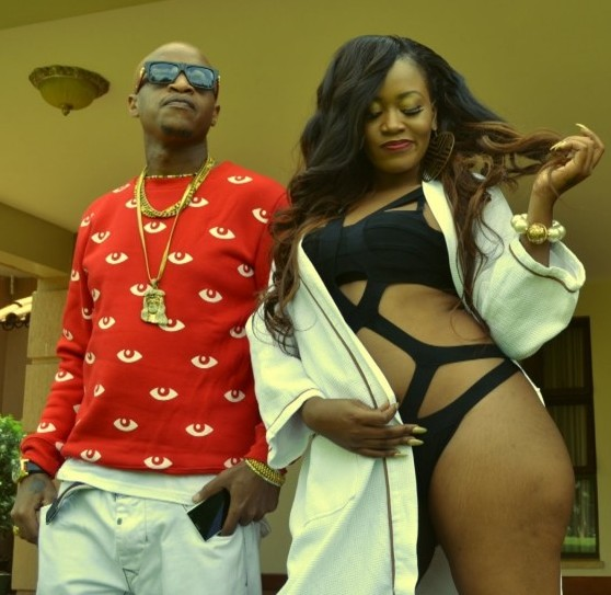 Jackson Ngechu Makini (Prezzo) with Vera Sidika in My Gal video