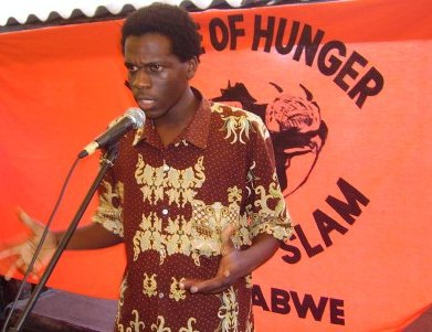A House of Hunger Poetry Slam in session