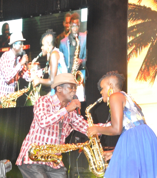 The Sax Aces concert at Kampala Serena Hotel