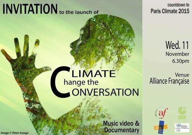 Kenyans go artistic, change the conversation on climate change