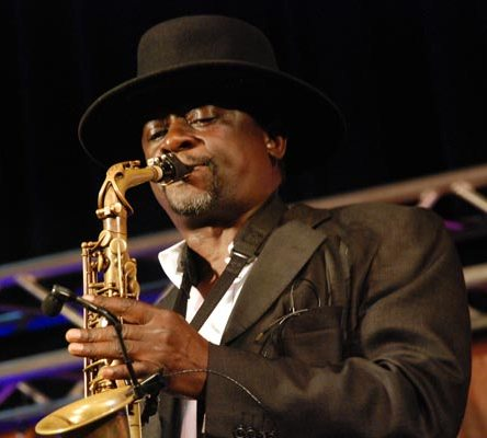 Afrigo Band's Moses Matovu was among the creme de la creme saxophonists at Quela Junction II concert series in Kampala August 30, 2015