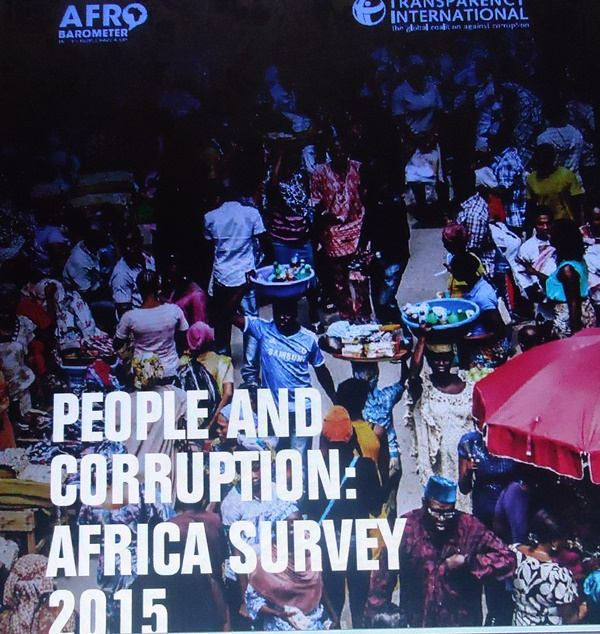 Transparency International's People and Corruption: Africa Survey 2015