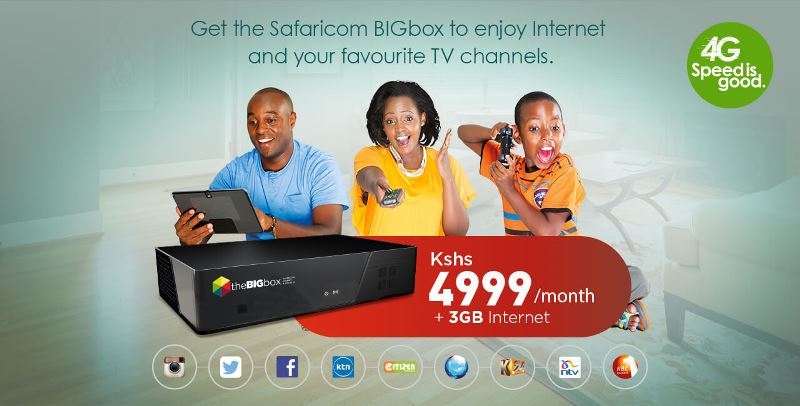 theBIGbox Digital TV Set Top Box by Safaricom