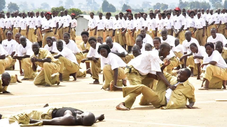 Uganda's Crime Preventers at a training session