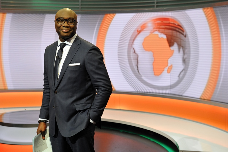 Ghana's Komla Dumor, after whom the bbc's Award for Future Stars of African Journalism is named