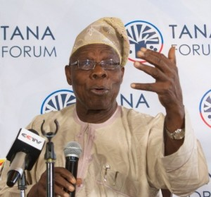 Olusegun Obasanjo, Former Nigerian President, Chairs Tana High-Level Forum on Security in Africa