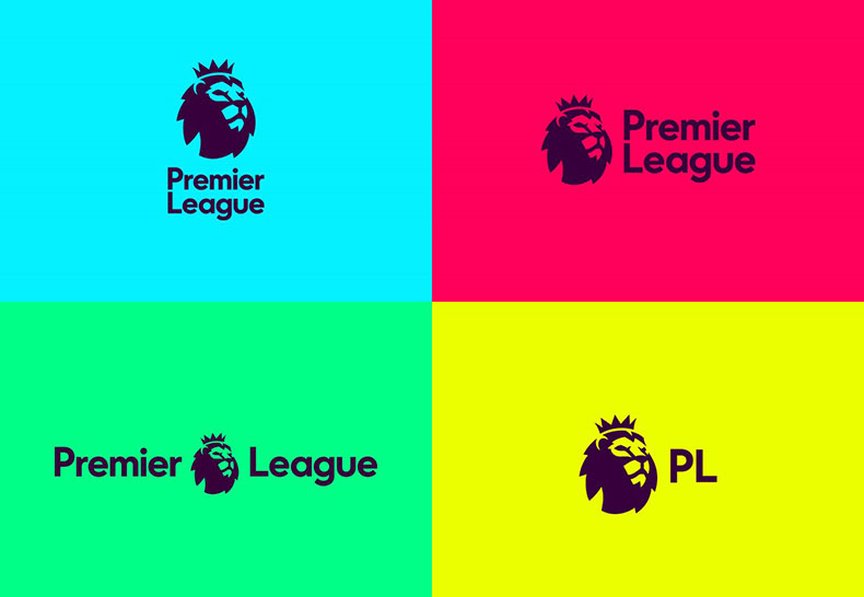The new identity of the Premier League, top English professional football league, from its 25th (2016-2017) season