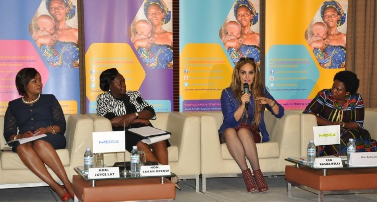 Merck's More than a Mother campaign discussion panel