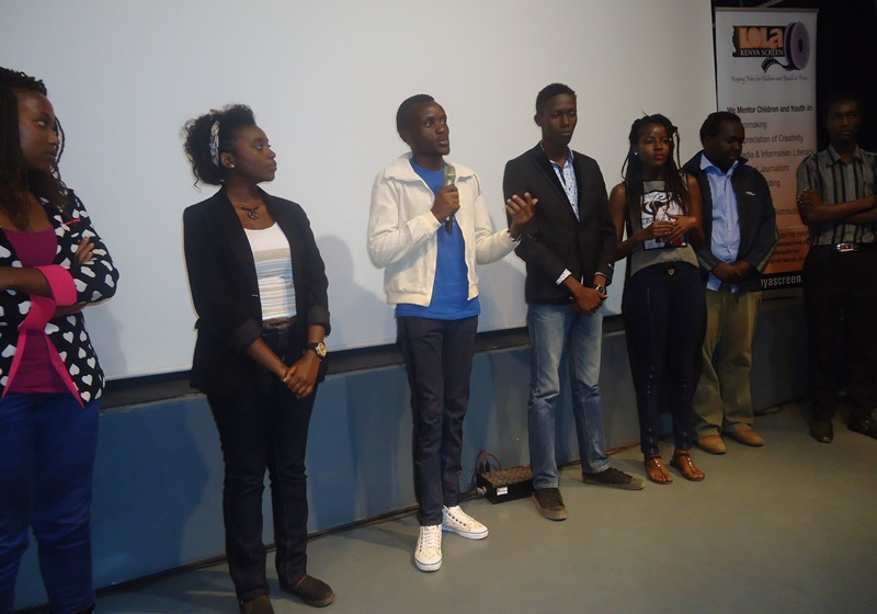Cast and Crew of director Lawrence Nduati's THE VACATION and ENGRAVEMENT films