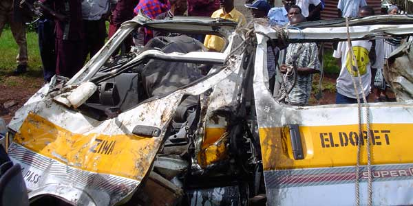 Matatus kill people in Kenya