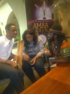 Christian Kendesigners Aniche, Peace Anyiam-Osigwe, Onyeka Nwelue discuss AMAA 2016