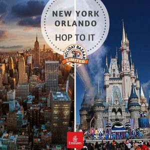 10-Night Family Escape packages for New York & Orlando in USA