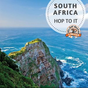 South Africa's Garden Route consists of Cape Town, Johannesburg and Suncity