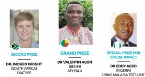 Winners of Innovation Prize for Africa in 2016