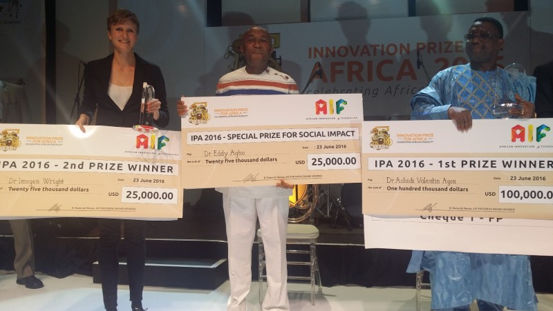 Beninois Wins Innovation Prize for Africa 2016