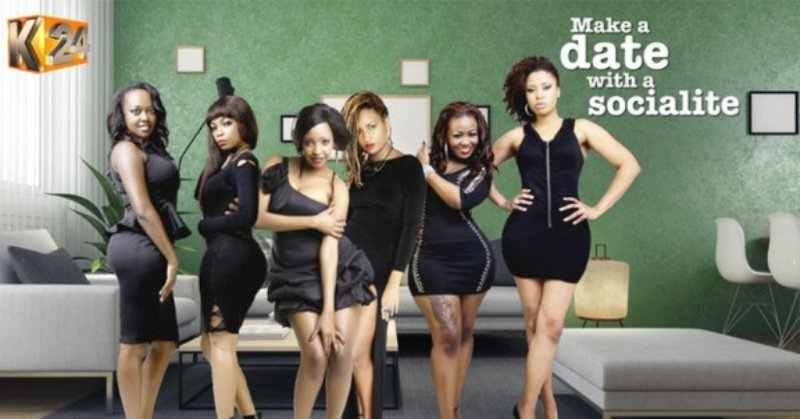 K24 TV's Who wants to date a socialite promo for Nairobi Diaries