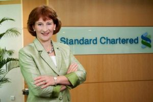 Standard Chartered Bank's Karen Fawcett says they are bringing the best in mobile banking to Africa