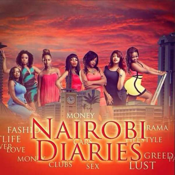 Publicity poster for Nairobi Diaries TV show for Socialites