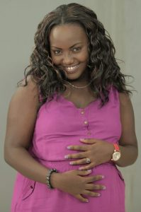 "Queeny Mwangi says screen stars ""struggle with the same things other people do: style, weight and even finding love."""