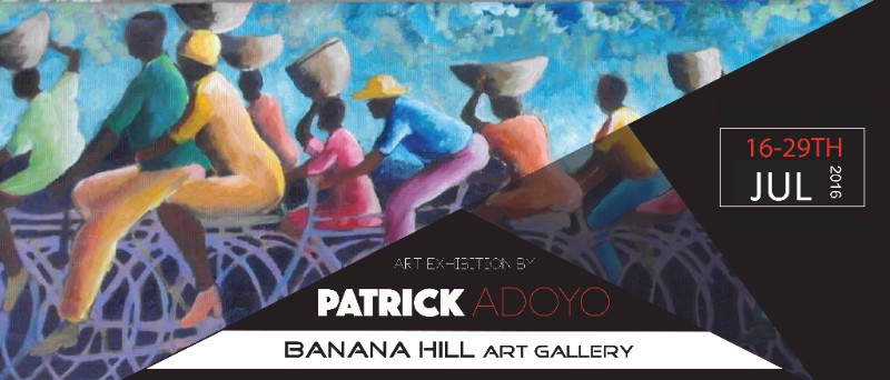 Patrick milenye Adoyo's month-long exhibition, Retiring to a Passion, opens
