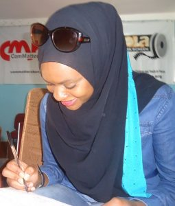 Imaan Jemimah the artist signs off after the interview