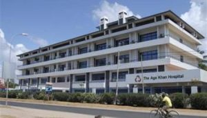 The Aga Khan Hospital in Dar es Salaam, Tanzania