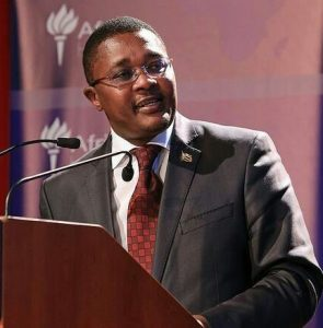Dr Walter Mzembi, Zimbabwe's Minister for Tourism and Hospitality Industry