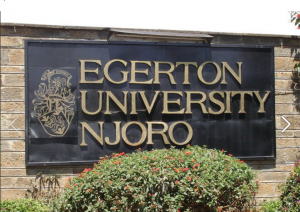 Egerton University in Kenya's Rift Valley region