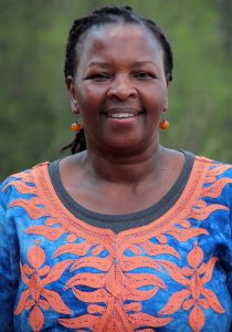 Njeri Kabeberi has a long history in human rights movement.