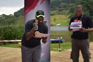 Mceeing matters at TTF's Kericho Triathlon