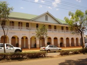 Renovated Madhvani building (1919) that once housed Vithaldas Kalidasi and Haridas company has won a Uganda National Heritage Award