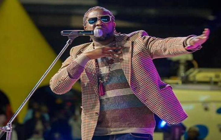 Tanzanian hip hop artist Fid Q performs for BBC's Global Beats programme