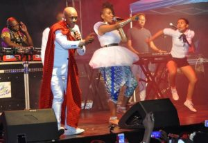 Mafikizolo, a multi-award-winning duo from South Africa, have put up a sizzling performance in Kampala