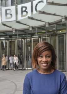 Didi Akinyalure has joined the BBC News team on a three-month placement.