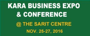 1st KARA Business Expo & Conference comes to Nairobi.
