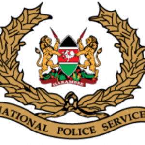 The logo of the National Police Service of Kenya.