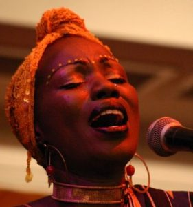 Singer Sali Oyugi of Leko ArtsInitiative who performed with Lydia Abura, has paid tribute to the departed musician.
